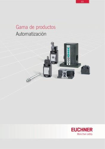 Gama de productos Automatización