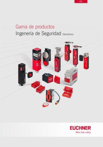 Gama de productos Ingeniería de Seguridad electrónica
