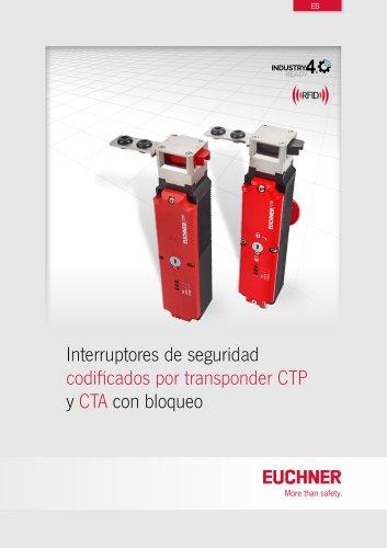 Interruptor de seguridad CTP codifi cado por transponder con bloqueo
