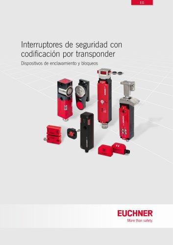 Interruptores de seguridad con codificación por transponder