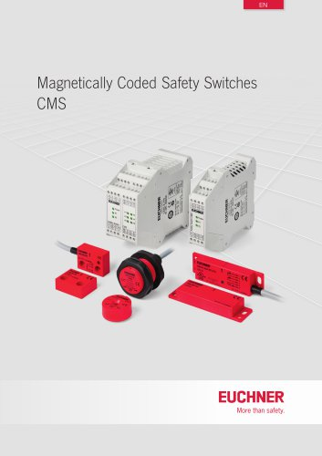Magnetically Coded Safety Switches CMS