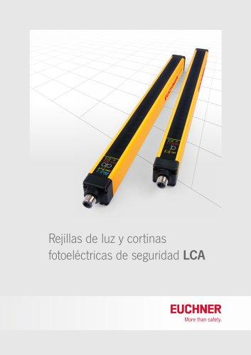 Rejillas de luz y cortinas fotoeléctricas de seguridad LCA