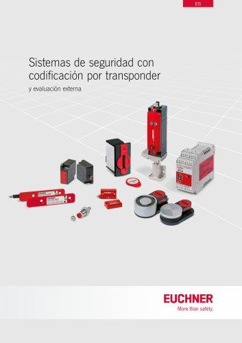 Sistemas de seguridad con codificación por transponder y evaluación externa