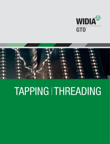 WIDIA-GTD Products Catalog