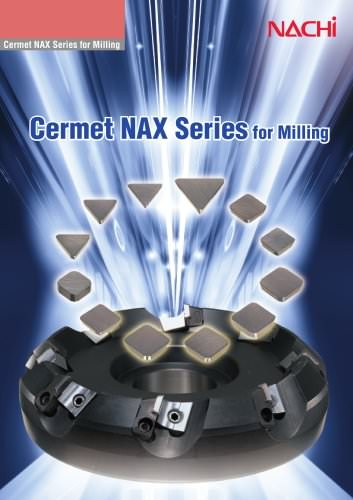Cermet NAX Series for Milling
