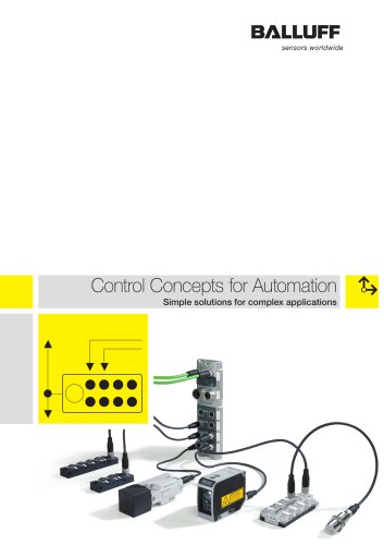 Control Concepts for Automation