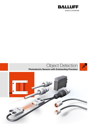 Object Detection (Photoelectric Sensors with Outstanding Precision)