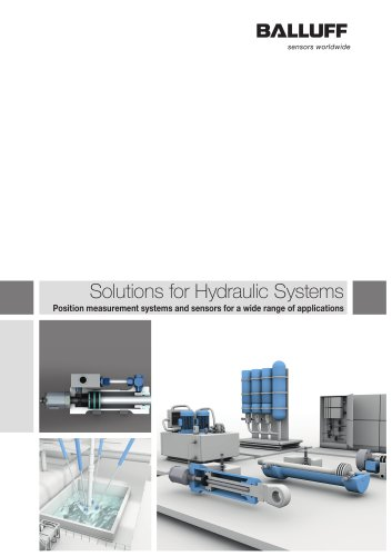 Solutions for Hydraulic Systems