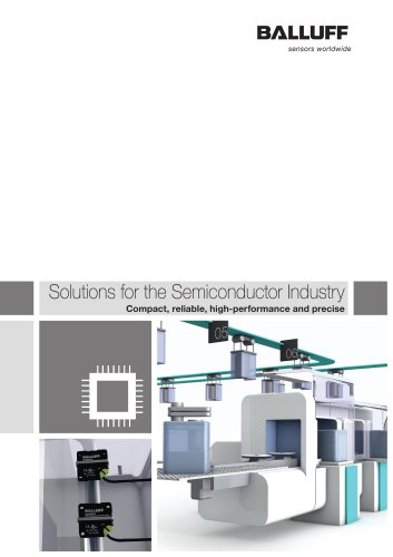 Solutions for the Semiconductor Industry