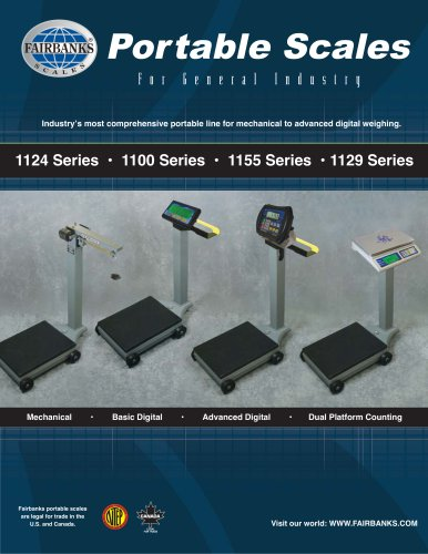 1124 Series Portable Scale