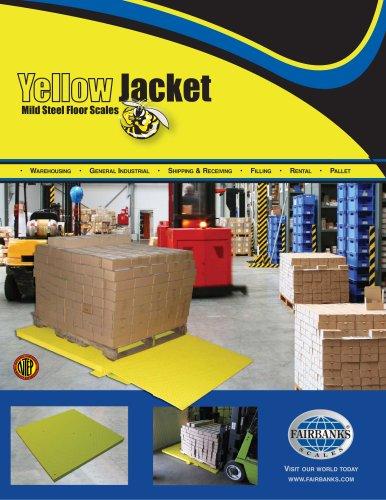 Yellow Jacket Mild Steel Floor Scales