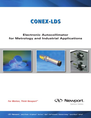 Electronic Autocollimator for Metrology and Industrial Applications