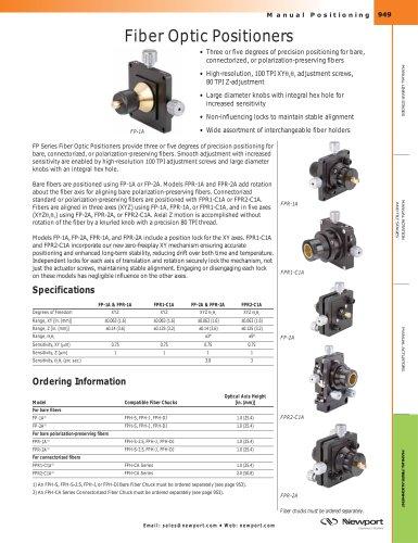 Fiber Optic Positioners