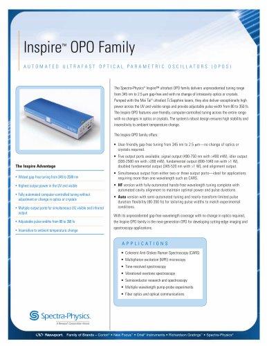 Inspire™ OPO Family