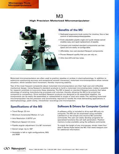 Microscopy Tools Micromanipulators