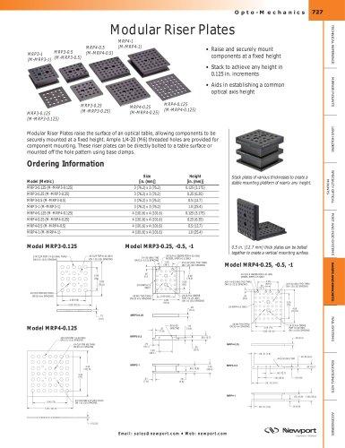 Modular Riser Plates
