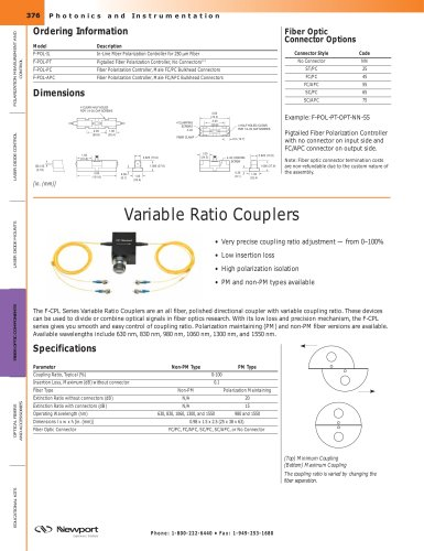 Variable Ratio Couplers