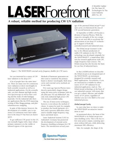 WaveTrain® CW Frequency Doubler