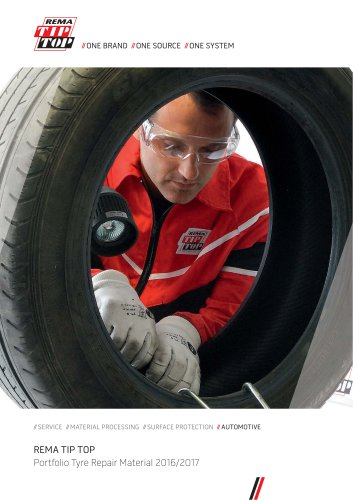 Portfolio Tyre Repair Material 2016/2017