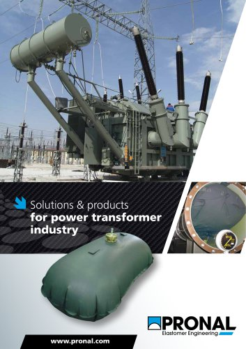 Solutions & products for power transformer industry