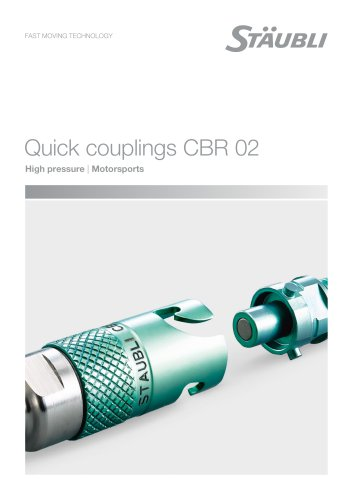 CBR02 motorsports - Clean break coupling
