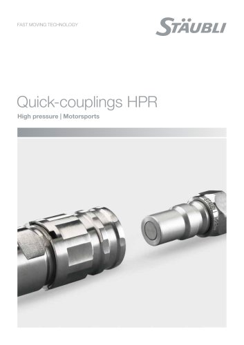 HPR Motorsports Couplings for high pressure hydraulic circuits