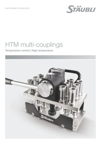 HTM multi-couplings Temperature control