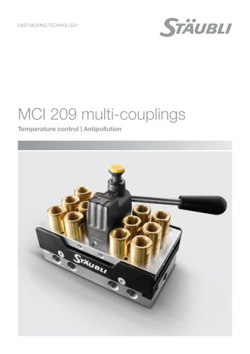 MCI 209 multi-couplings Temperature control