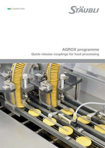 RBE AGROX Programme - Quick-release couplings for food processing