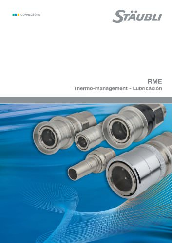 RME Thermo-management - Lubricación