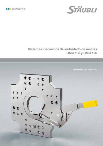 Sistemas mecanicos de embrido de moldes QMC 105 y QMC 106