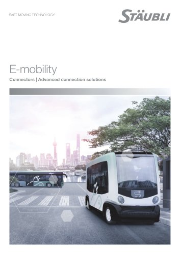 Solutions for E-mobility - Advanced connection solutions