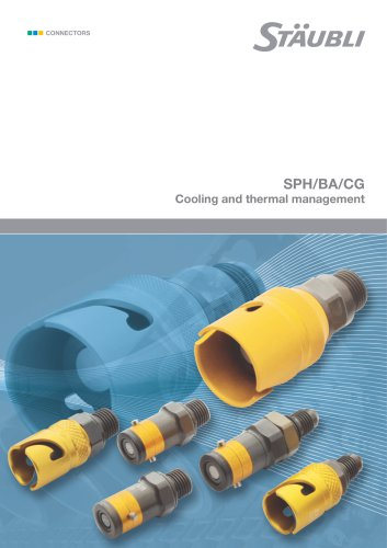 SPH/BA/CG Cooling and thermal management