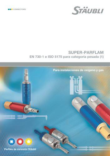 SUPER-PARFLAM EN 730-1 e ISO 5175 para categoria pesada