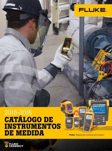 2015-2016 CATÁLOGO DE INSTRUMENTOS DE MEDIDA