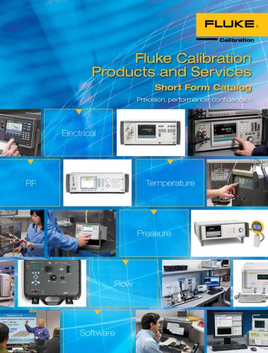 Fluke Calibration Products and Services