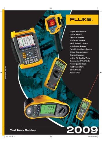 Fluke Test Tools Catalog 2009