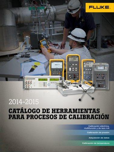 herramientas para procesos de calibración 2014-2015