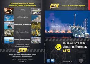 Equipamiento para zonas peligrosas ATEX