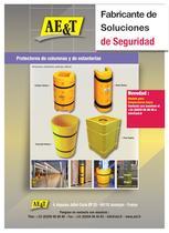 Protectores de columnas y de estanterías