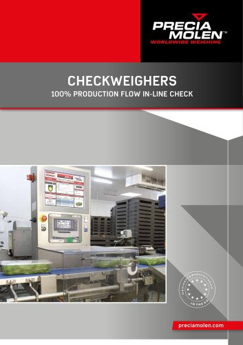 CHECKWEIGHERS 100% PRODUCTION FLOW IN-LINE CHECK