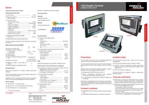 Graphic Terminal I 410 D / D-S / D-T