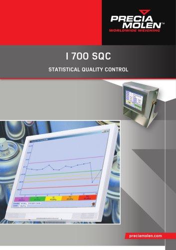 I 700 SQC - STATISTICAL QUALITY CONTROL