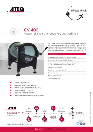 CV250 / CV400