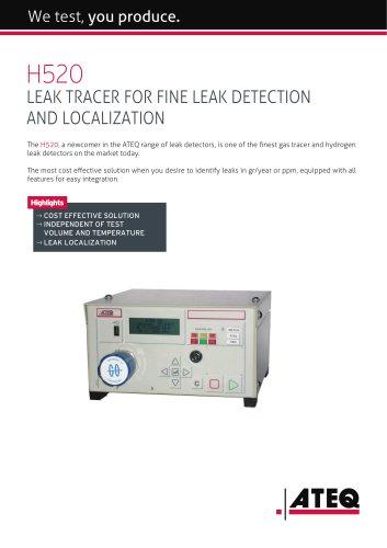 Hydrogen leak tester | H520
