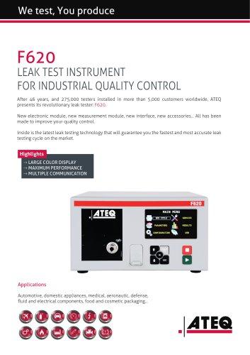 leak tester | F620