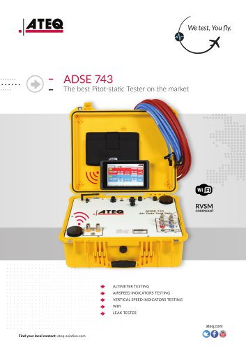 PITOT STATIC TESTER ADSE 743