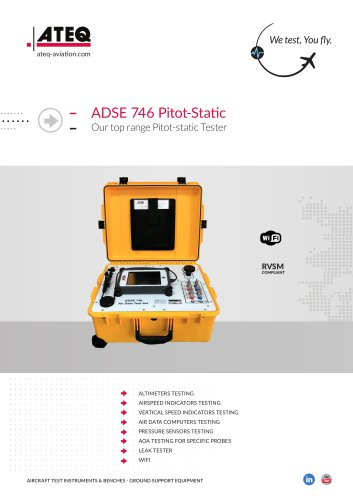Pitot Static Tester - ADSE 746