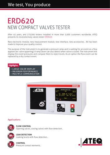 Valve tester | ERD 620