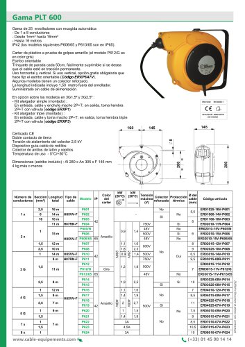 Gama PLT 600